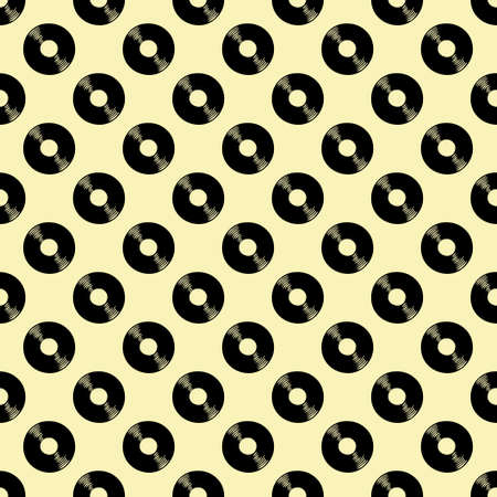 vintage pattern made with aged vinyls