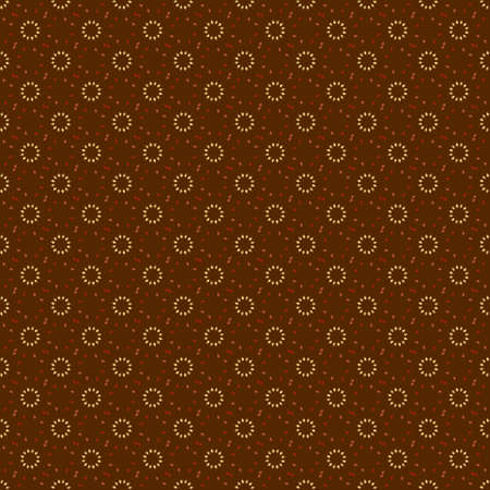Vector vintage stijl patroon gemaakt met bruine kleuren