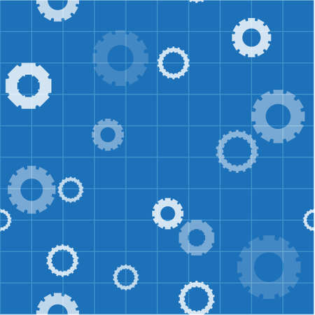 Vector pattern made with different gears