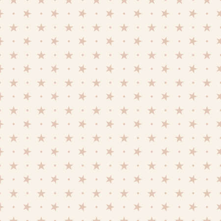 Abstract vector pattern made with different sizes stars Illustration