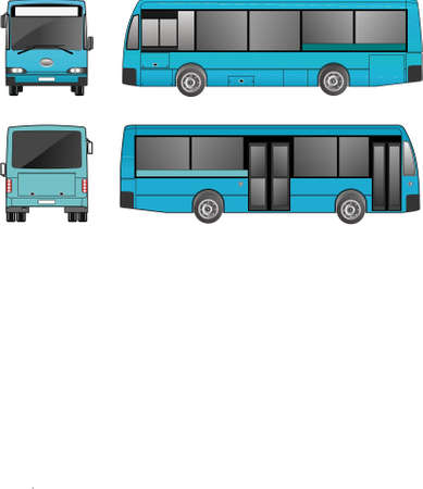 Bus Stock Vector - 18751520