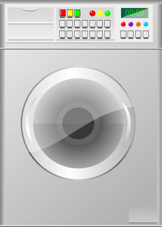 washing machine Illustration