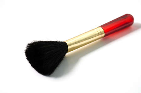 Brush of makeup Stock Photo