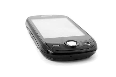 mobile phone on white isolated background Stock Photo - 19848172