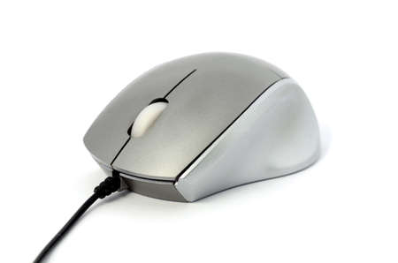 isolated on white computer mouse Stock Photo - 19848173