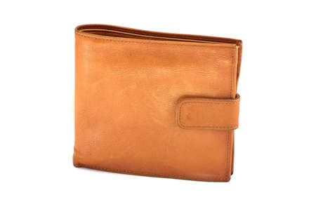men s wallet purse  Stock Photo