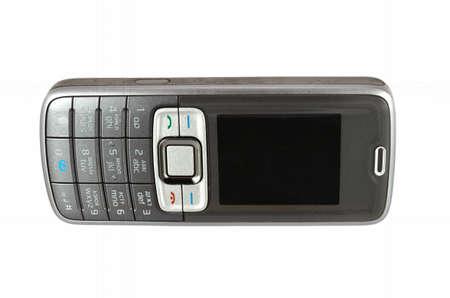 Mobile phone on white isolated background Stock Photo - 22446882