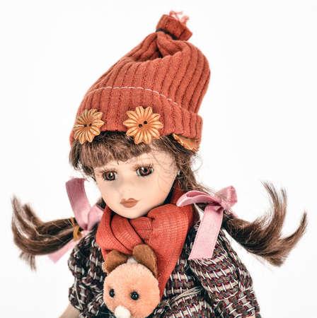 Vintage girl baby doll