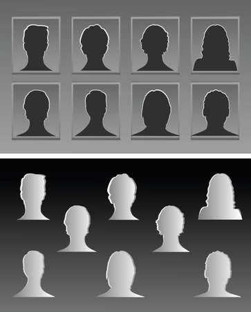 siluettes: Avatar Siluettes