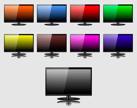 screen: TV screen