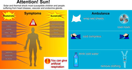 skin burns: infographics