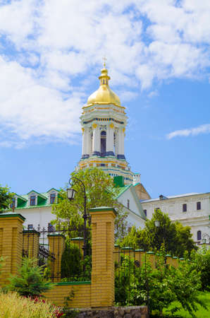 Panoramic view of the Great Lavra Belltower, Kiev Pechersk Lavra, Ukraine, Kiev Pechersk Lavra, Ukraine