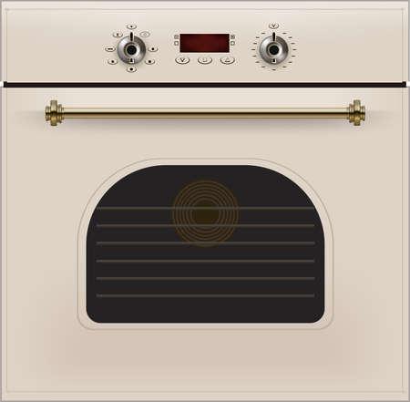 Oven Illustration