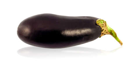 eggplant isolated in white  photo