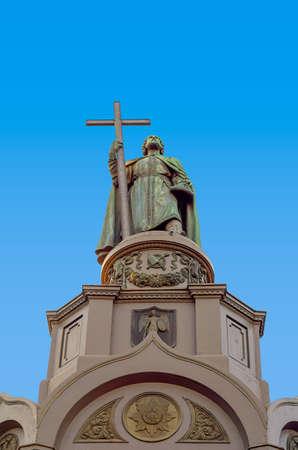 vladimir: Monument of St. Vladimir. Prince of Kievan Rus. Kiev.Ukraine