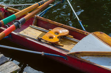 rowing boat Stock Photo