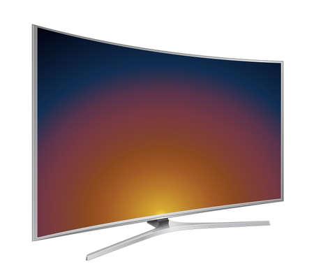 TV screen vector illustrator