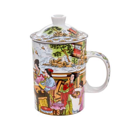teapot isolated on white background Stock Photo