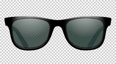 sun glasses vector illustration realistic
