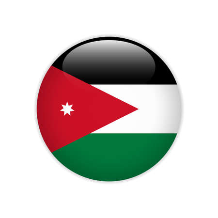 Jordan flag on button