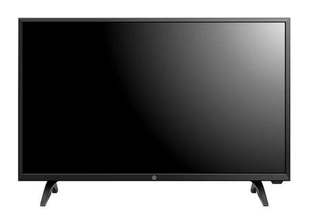 TV screen flat lcd led vector illustration Vector