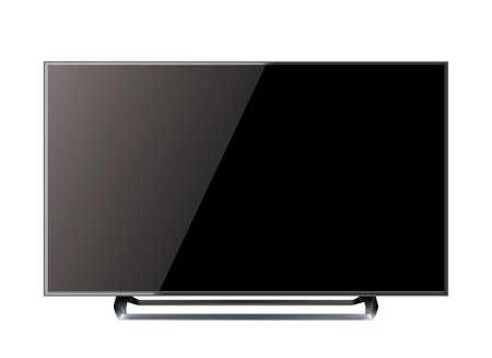 TV screen flat lcd led vector illustration Vector