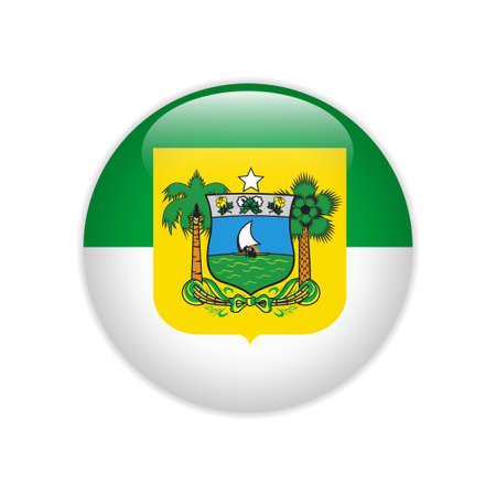 Flag Bandeira do Rio Grande do Norte on button