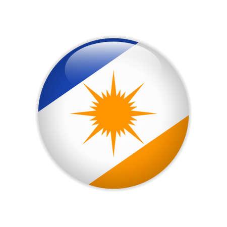 Flag Bandeira do Tocantins on button