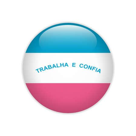 Flag Bandeira do Espírito Santo on button