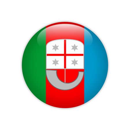 Flag Liguria button