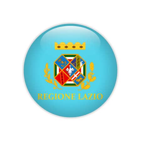 Flag Lazio button