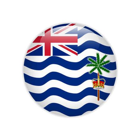 Flag British Indian Ocean Territory button
