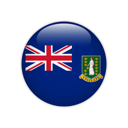 Flag of British Virgin Islands button