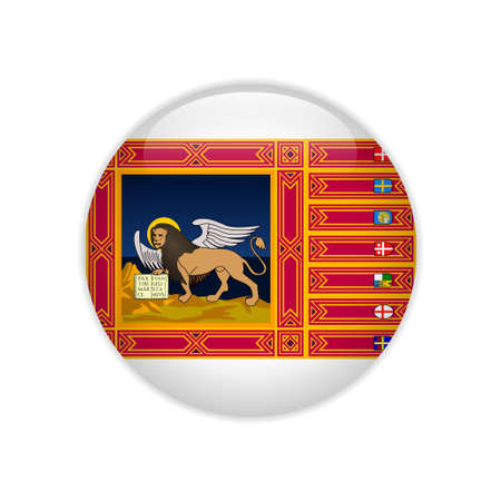 Flag of Veneto button