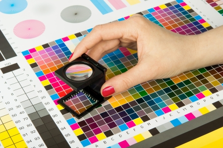 graphic: Color management and quality control  in print production