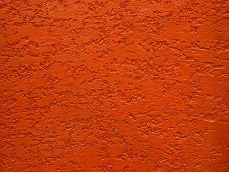 knobby: Red rough cement wall texture for background Stock Photo