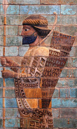 fars: Persian Achaemenid soldier