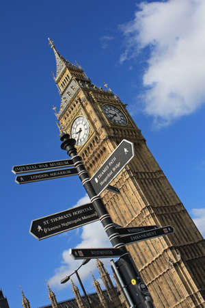 Big Ben and directions photo
