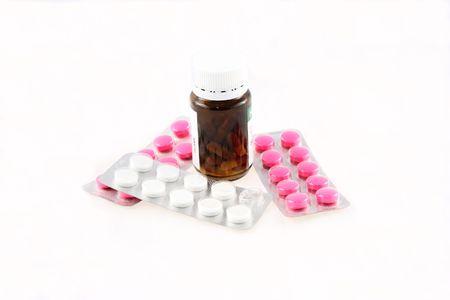 Various types of drug packings