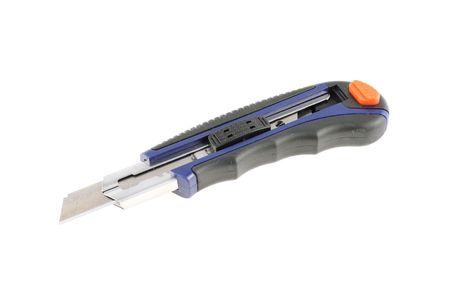 Utility knife on white background
