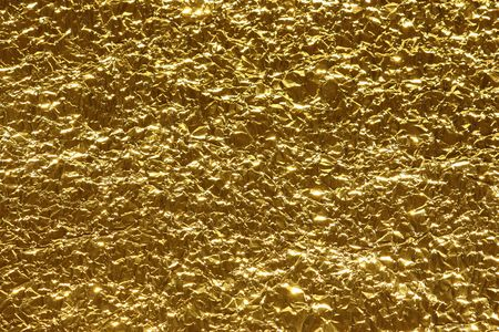 Abstract metallic background of gold color Stock Photo