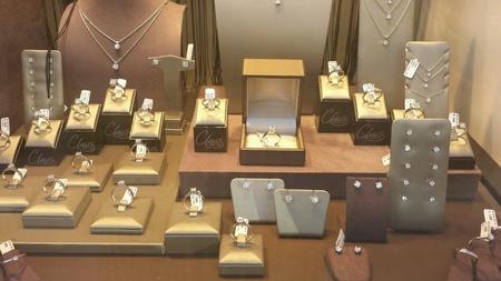 showpiece: showpiece of an Antwerp diamonddealer Stock Photo