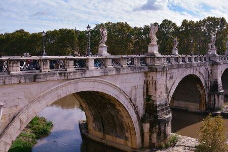 rome italy: Castel Sant Angelo Rome Italy Editorial