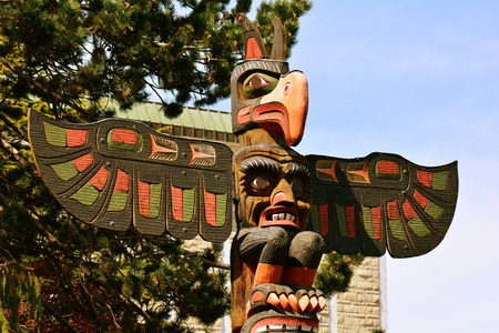 victoria bc: Thunderbird Park,Victoria BC,Canada.This park is situated next to the Royal BC  Museum,come and see the totems.