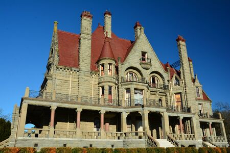 victorian architecture: The castle in Victoria.Craigdarroch castle is a good example of Victorian architecture.Come to Victoria and chose your fun.