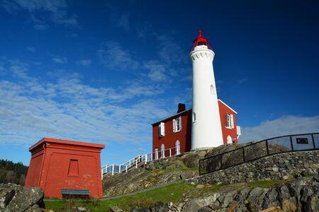 victoria bc: Fort Rodd Hill National historic park, Victoria BC, Canada. Stock Photo