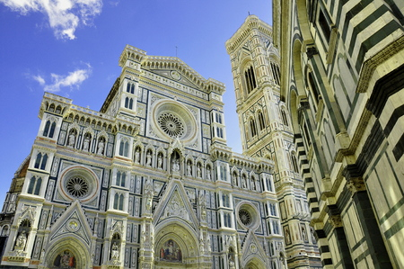 The skyline of Florence Italy.