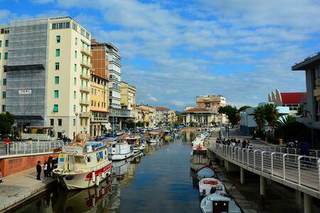 viareggio: Tuscan seaside resort of Viareggio Italy. Stock Photo