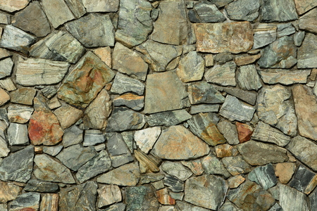rockwall: Rock wall puzzle Stock Photo