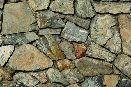 Rock Wall Puzzle Photo